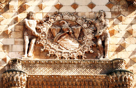 emboss: Emboss of Guadalajara(Palacio del infantadao)