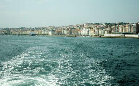 cantabria: View of Santander from Cantabria sea