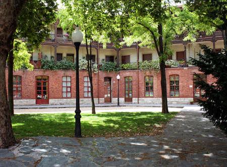 cosa: Viejo Cosa square in Valladolid, Spain