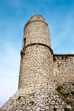 xv century: Tower of castle of the Counts XV century in Chinchon near of Madrid Editorial