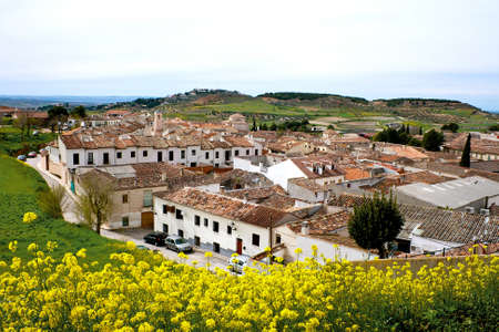 View of historic small town Chinchon,, Spain Stock Photo - 19348970