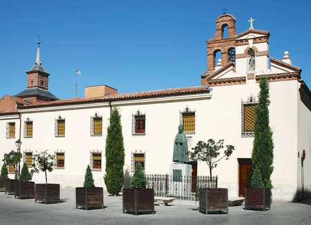 univercity: Chapel of Univercity and Monument of Cardinal de Cisneros in Alcala de Henares, Madrid