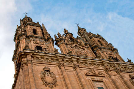 Ancient New Cathedral in Salamanca ,Spain
