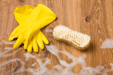 cleaning products: Concept cleaning - washing floors