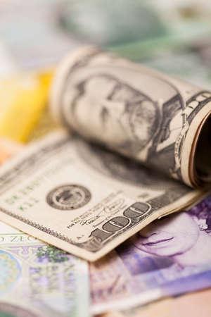 one hundred U.S. dollars - close up photo