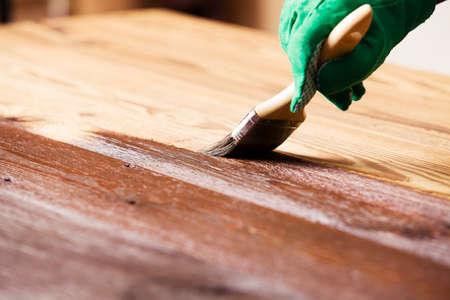 Schilderen en hout onderhoud olie-wax
