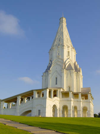 Ascension Church. Architectural Ensemble  in Kolomenskoye. Moscow.