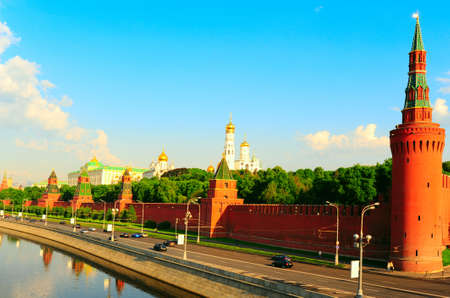 View From Moscow-river On Kremlin. Stock Photo - 4977505