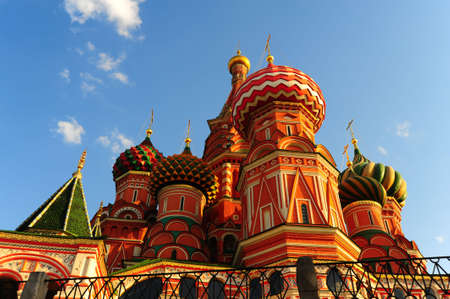 Saint Basil's Cathedral On Red Square In Moscow.Russia. Stock Photo - 5032201