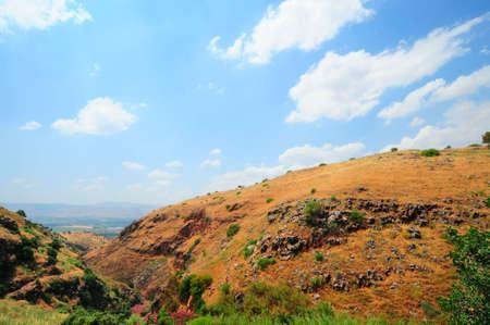 golan: View From Golan Height, Israel, To Jordan Valley.