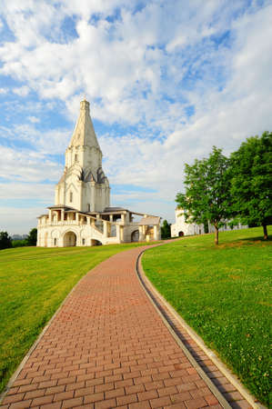 Ascension Church. Architectural Ensemble  In Kolomenskoye. Moscow Stock Photo - 5070032