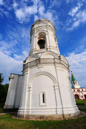 White Belfry. Architectural Ensemble  In Kolomenskoye. Moscow Stock Photo - 5100134