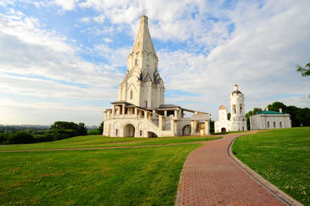 Ascension Church. Architectural Ensemble  In Kolomenskoye. Moscow Stock Photo - 5363682
