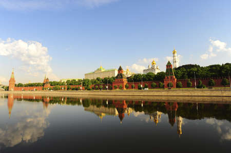 View From Moscow River On Kremlin. Russia Stock Photo - 6435209