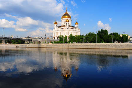 Magnificent Cathedral In Honor Of Christ The Savior In Moscow Stock Photo - 6480677