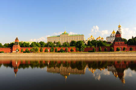 View From Moscow-river On Kremlin. Stock Photo - 7298904