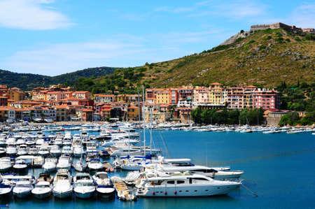View Of The Harbor Porto San Stefano