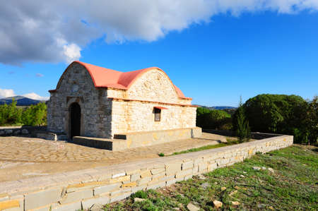 Small Greek Orthodox Church on The Island of Rhodes Stock Photo - 8604954