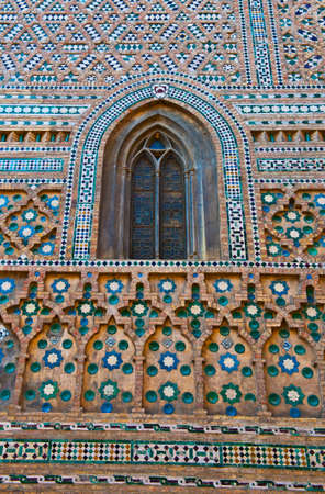 Detail of the Catholic Church in Zaragoza, Rebuilt from a Mosque