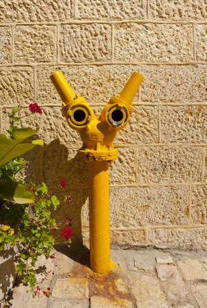 Fire Hydrant in Jerusalem, Israel photo