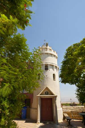 The Greek Orthodox Church near the Dead Sea photo
