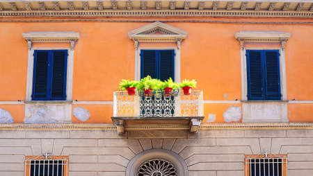 House in Pisa in the Classical Style, Italy Stock Photo - 12396108