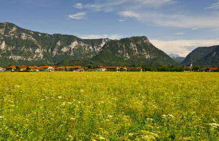 The Bavarian Village at the Foot of the Alps photo