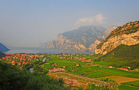 Landscape With The Lake Lago Di Garda, Italy photo