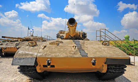 Memorial Site and the Armored Corps Museum in Latrun, Israel photo