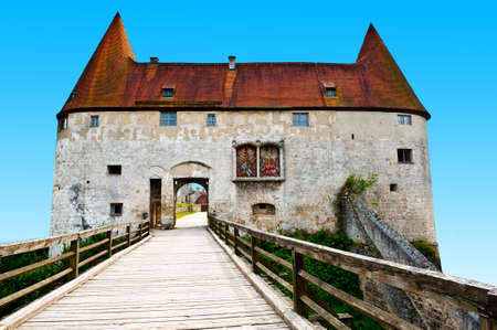 Fortress in the Bavarian Town of Burghausen photo