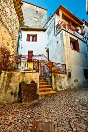 Cobblestones in Medieval French City  Stock Photo - 12943423