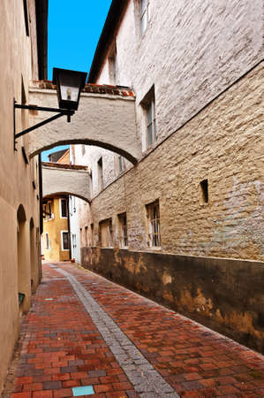 Bavarian Town of Landshut, Germany photo