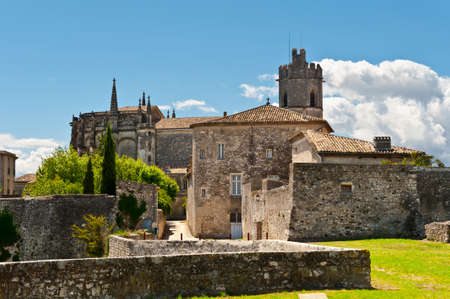 Medieval Cathedral in the French City of Viviers photo