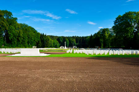 The British Military Cemetery in Bavaria, Germany photo