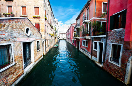 The Narrow Canal- the Street in Venice photo