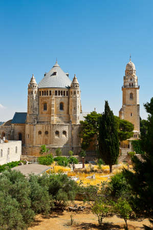 Church of  Dormition and Armenian Cemetery on Mount Zion Stock Photo - 14333608