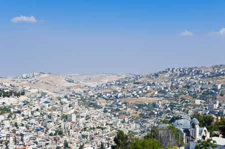 View to the East Jerusalem from the Walls of the Old City Stock Photo - 14333625