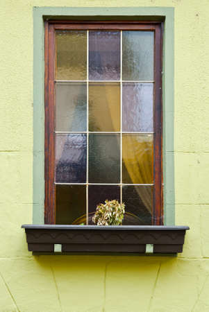 Window in the Traditional German Style photo
