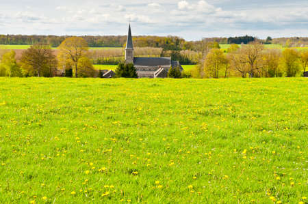 Meadows on the Outskirts of a Small Belgian Town photo