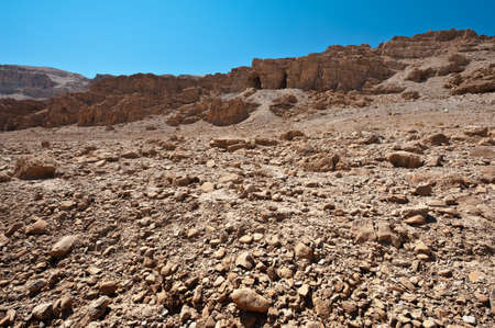 Big Stones in Sand Hills of Samaria, Israel Stock Photo - 14992842