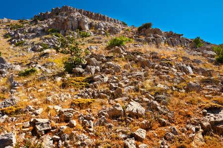 golan: Mount Hermon on the Golan Heights, Israel