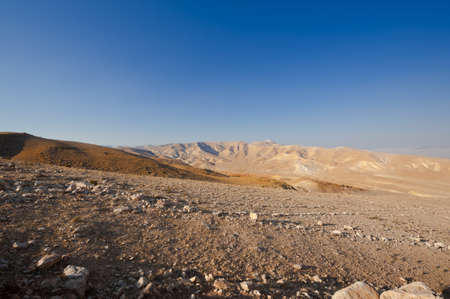 Big Stones in Sand Hills of Samaria, Israel Stock Photo - 15032555