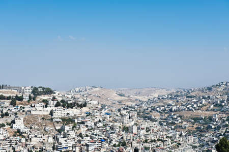 View to the East Jerusalem from the Walls of the Old City Stock Photo - 15032553