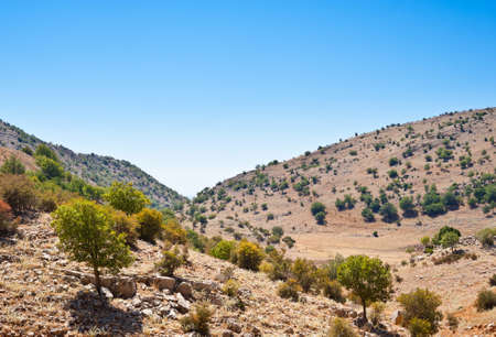 Mount Hermon on the Golan Heights, Israel Stock Photo - 15541273