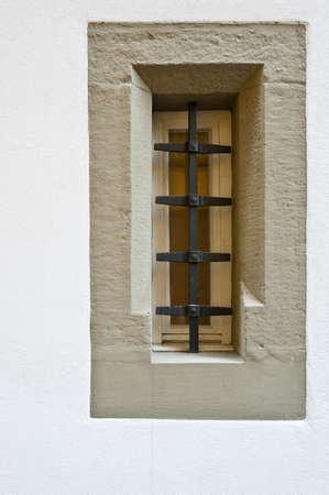 embrasure: Modern Swiss  Window Stylized as Embrasure