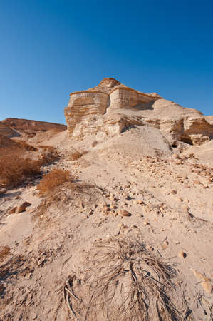 vadi: Canyon in the Judean Desert  Stock Photo