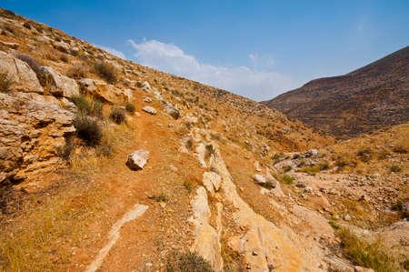 Mountainous Terrain in the West Bank, Israel Stock Photo - 16689248