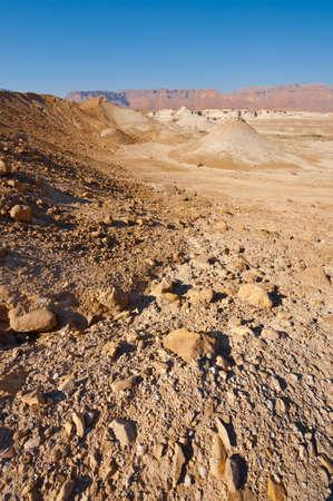 riverbed: Desert on the West Bank of the Jordan River