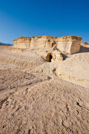 judean desert: Canyon in the Judean Desert  Stock Photo