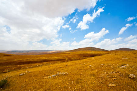 Big Stones in Sand Hills of Samaria, Israel Stock Photo - 16729567